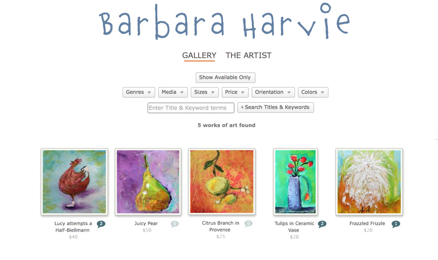 image of daily paintworks storefront