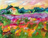 Poppy Meadow in Provence